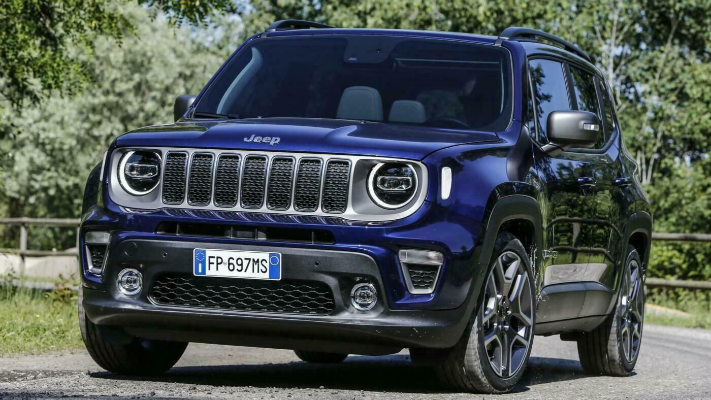 Jeep Renegade EV GKN