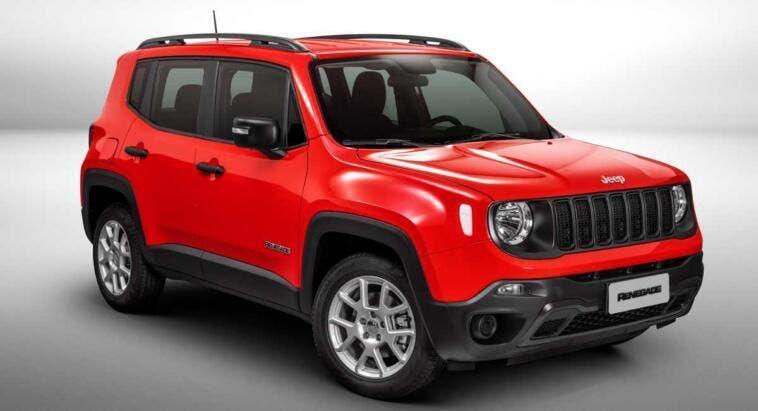 Jeep Renegade crescita vendite