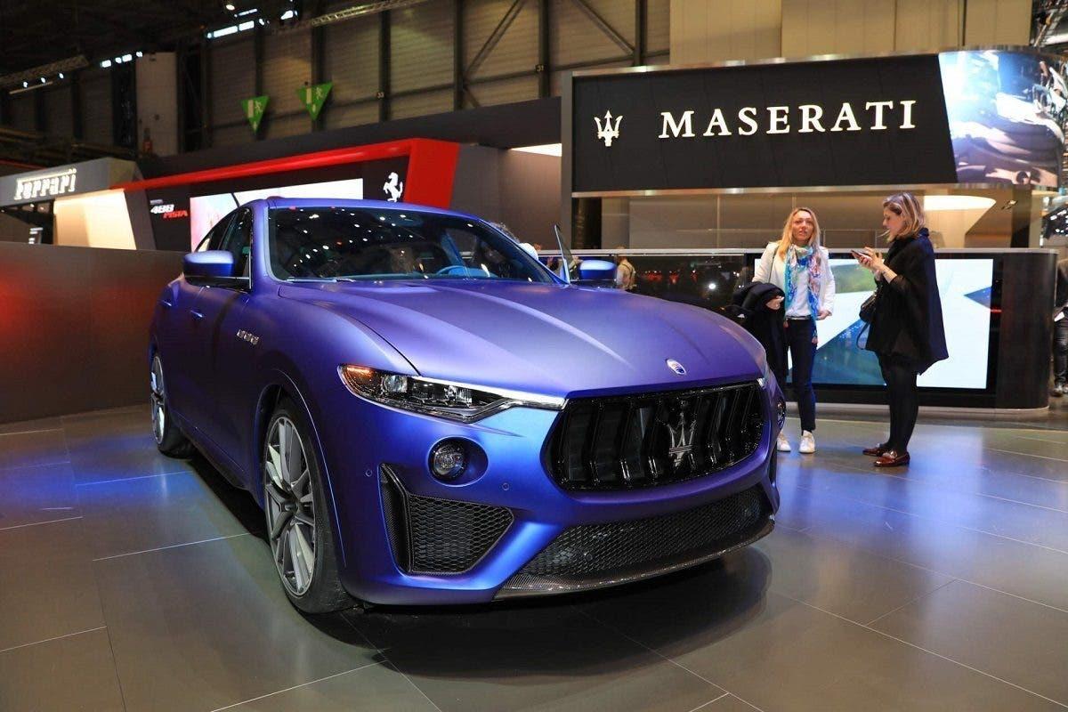 Maserati Levante Trofeo Launch Edition Salone di Ginevra 2019 foto live