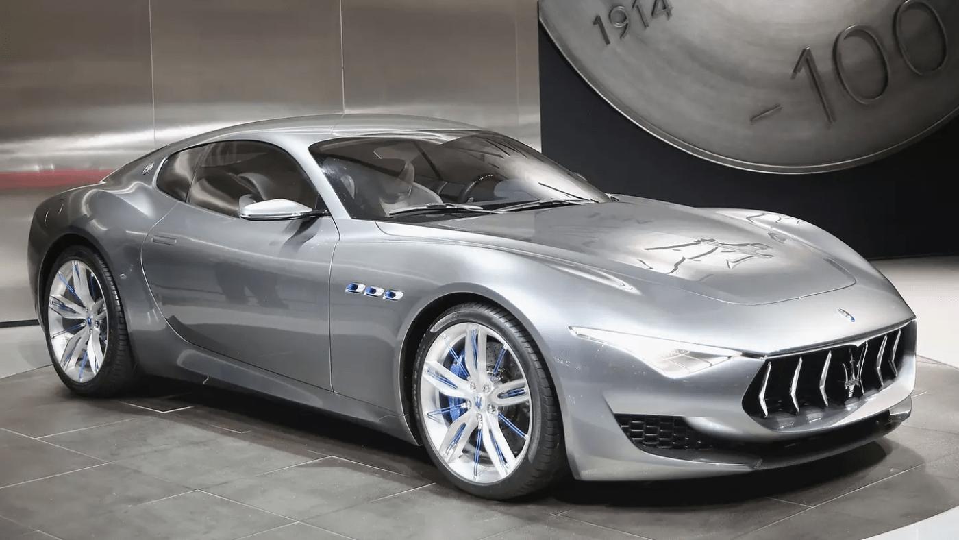 Maserati motori benzina elettrificati