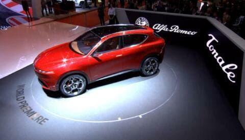 Alfa Romeo Tonale: il design del suv compatto