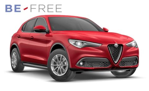 ALFA STELVIO BE FREE PRO PLUS – 2.2 Turbo 210cv At8 Q4 Super