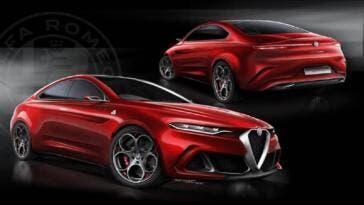 Alfa Romeo GTV 2020 Render 2019