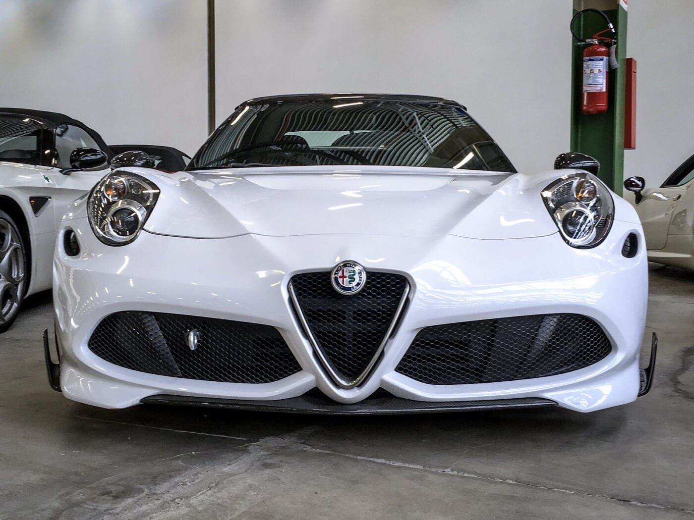 Alfa Romeo 4C Quadrifoglio Quadrifoglio Prototipo