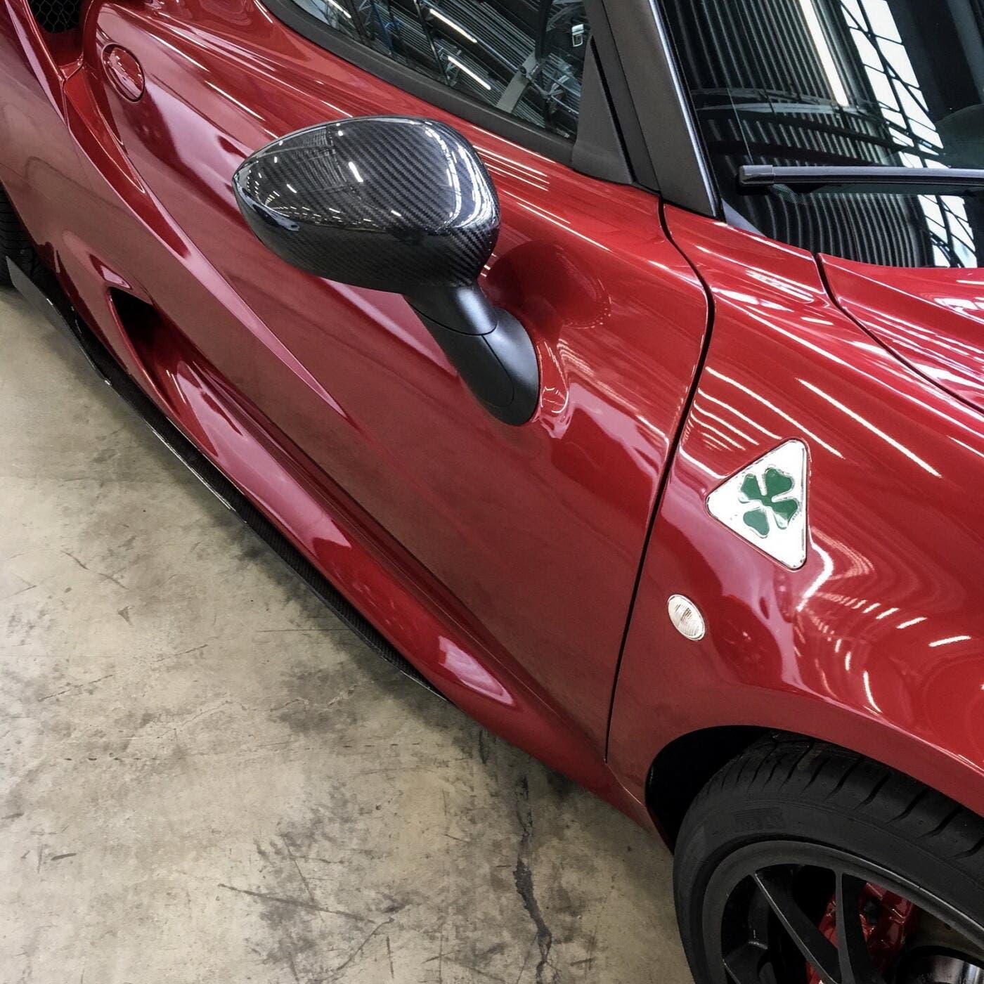 Alfa Romeo 4C Quadrifoglio prototipi foto