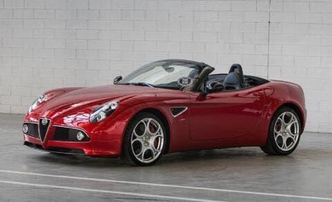 Alfa Romeo 8C Spider FCA Heritage vendita