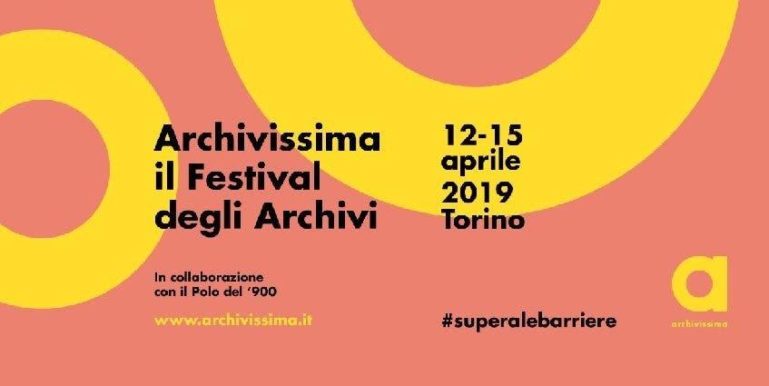 Archivissima 2019