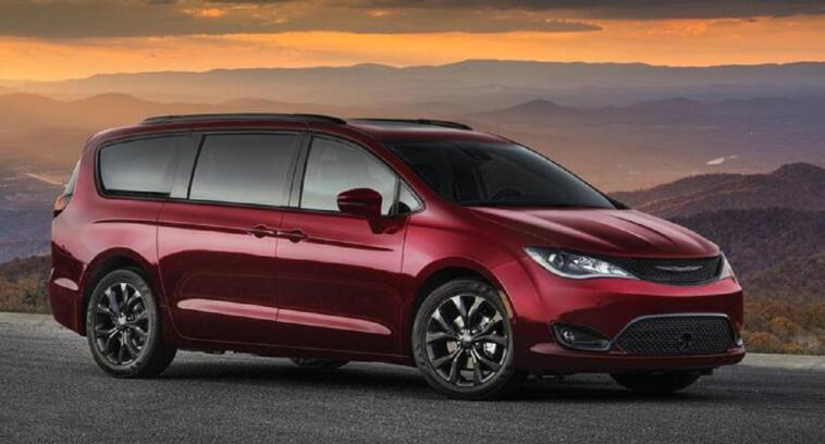 Chrysler Pacifica Best New Car Award 2019 Minivan