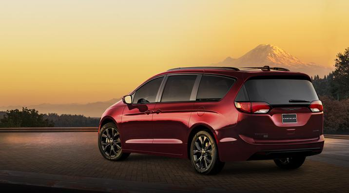 Chrysler Pacifica Texas Auto Roundup 2019