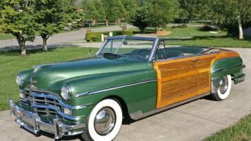 Chrysler Town & Country Convertible 1949 vendita