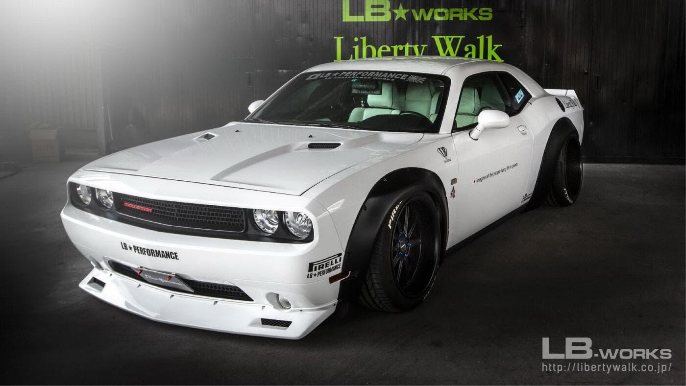 Dodge Challenger Liberty Walk