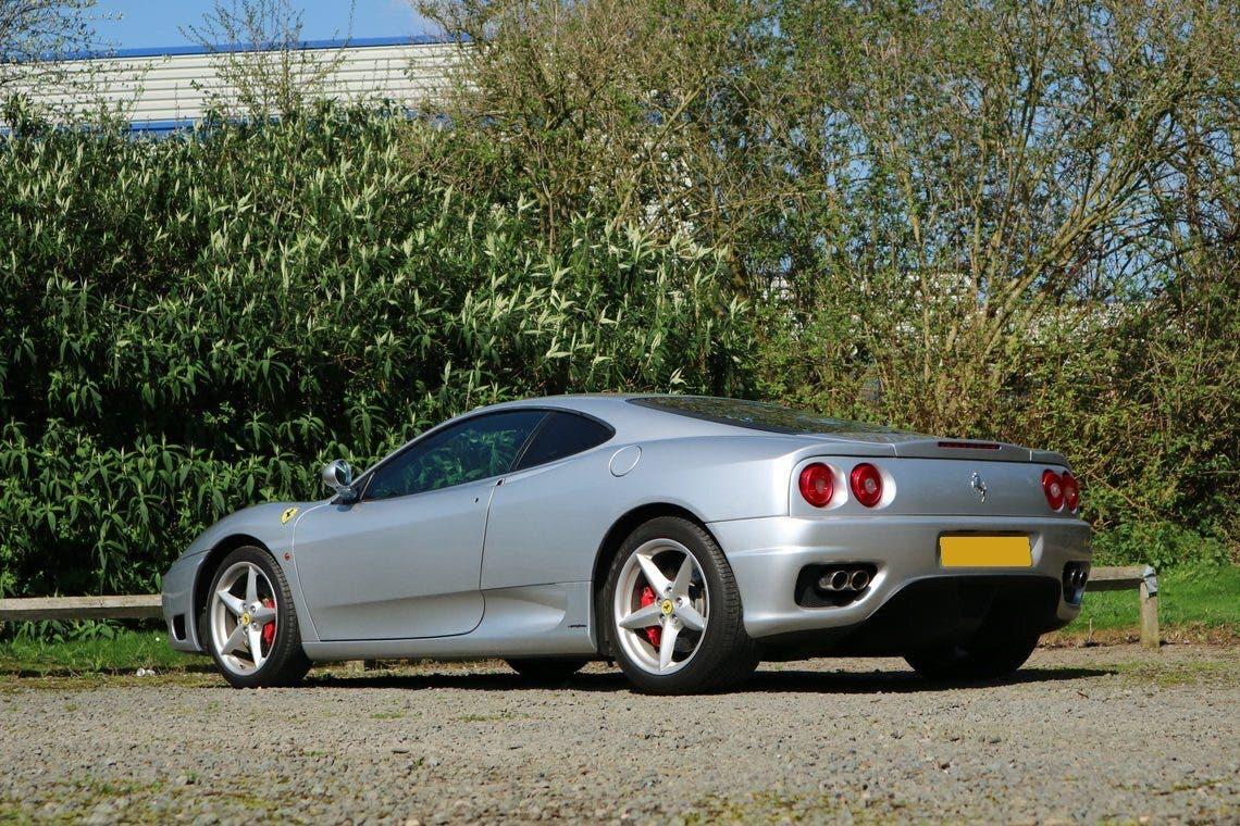 Ferrari 360 Modena asta