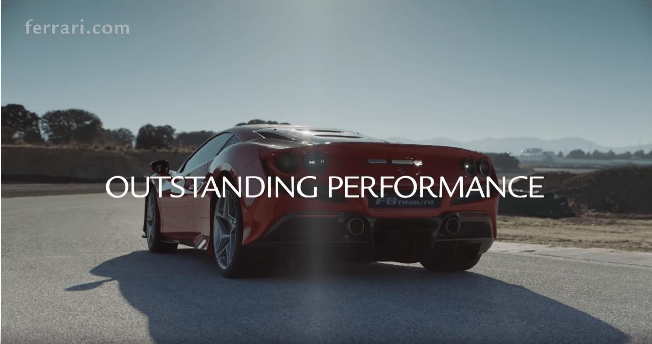 Ferrari F8 Tributo nuovo video