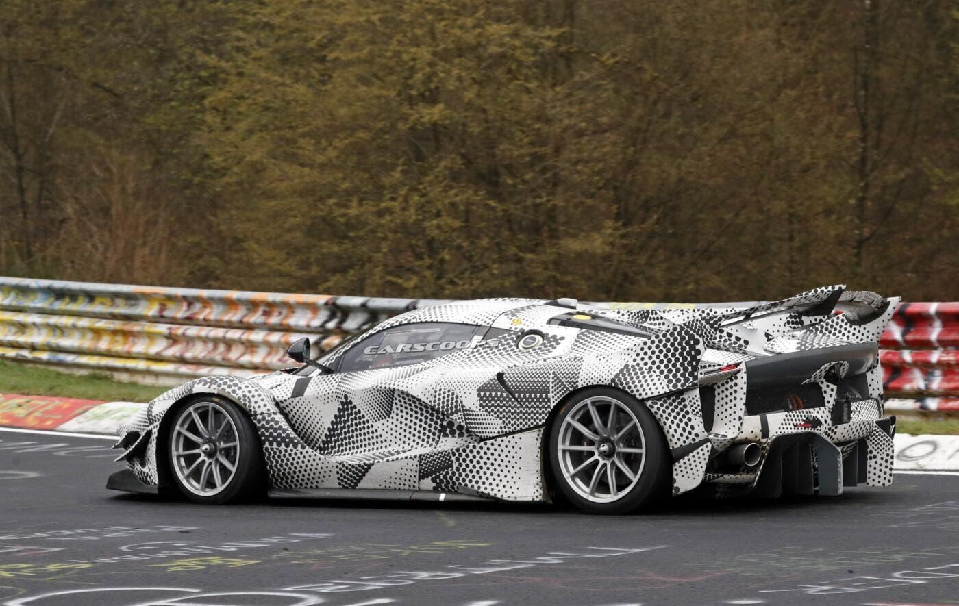 Ferrari FXX K Evo prototipo Nurburgring