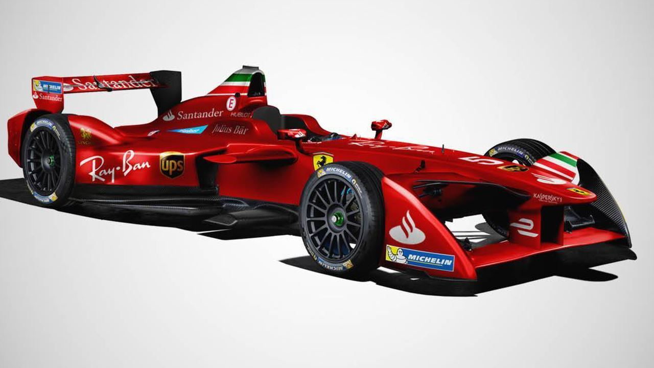 Ferrari Formula E concept