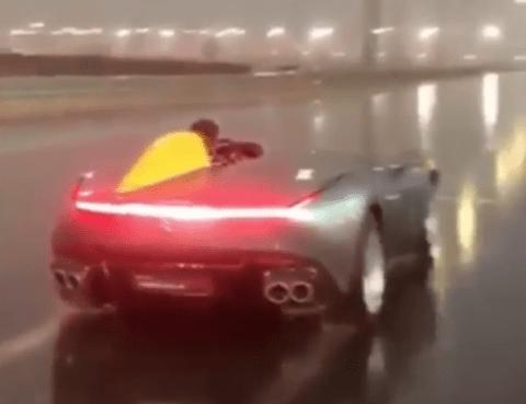 Ferrari Monza SP1 Instagram video