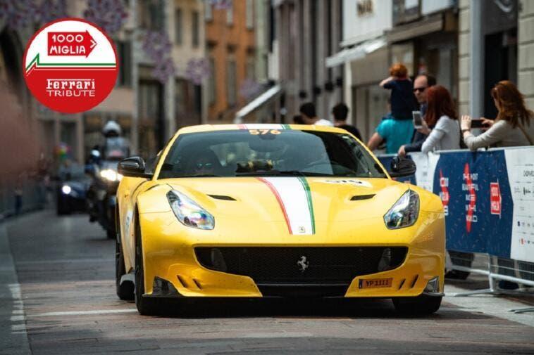 Ferrari Tribute to 1000 Miglia 2019