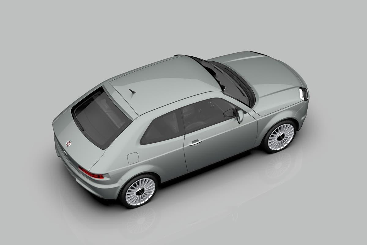 Fiat 127 concept render