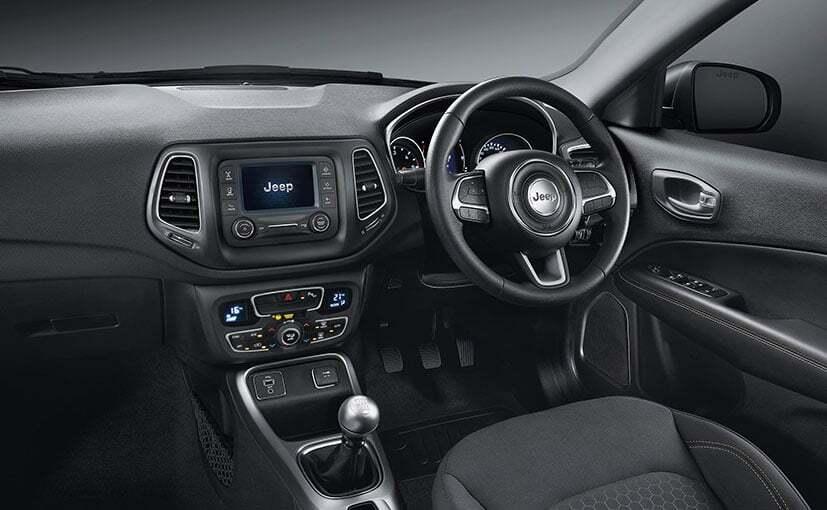 Jeep Compass Sport Plus ufficiale India