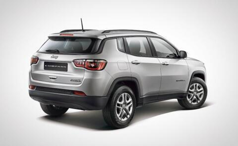 Jeep Compass Sport Plus ufficiale India