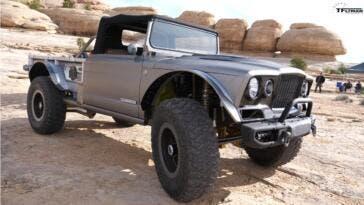 Jeep Five-Quarter concept video