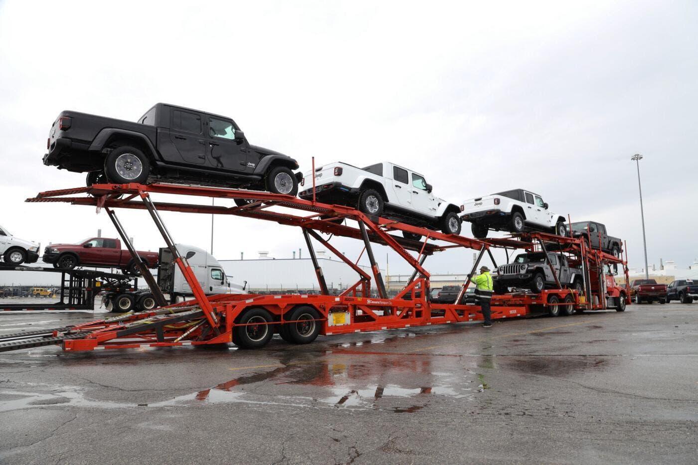 Jeep Gladiator 2020 arrivo concessionarie statunitensi