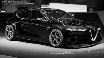 Nuova Alfa Romeo Giulietta render