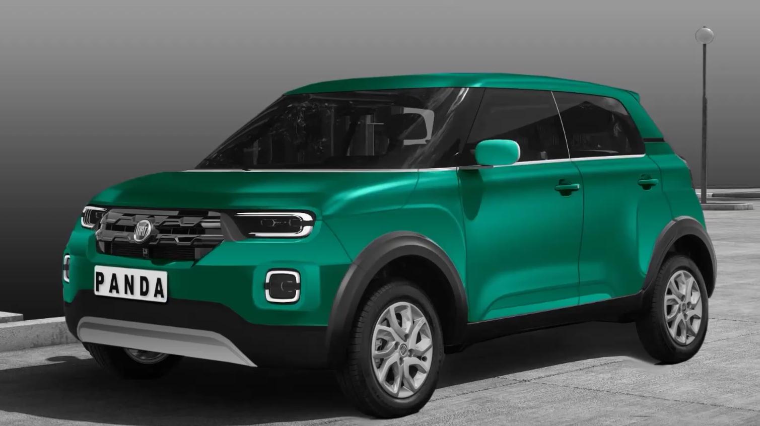 Nuova Fiat Panda render