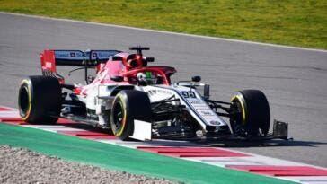 Alfa Romeo Racing C38 monoposto formula 1