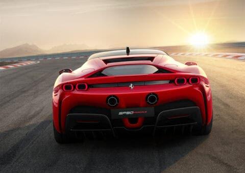 Ferrari SF90 Stradale Posteriore