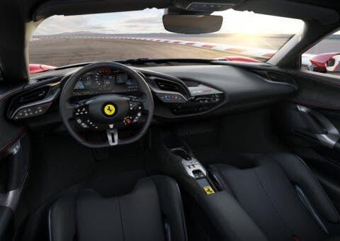 Ferrari SF90 Stradale Interni Cruscotto