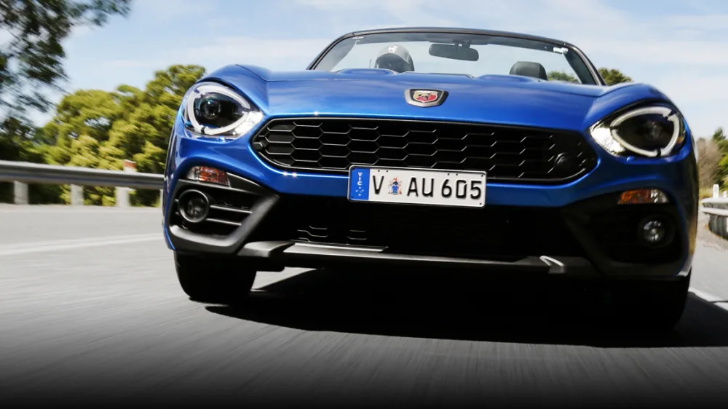 Abarth 124 Spider richiamo
