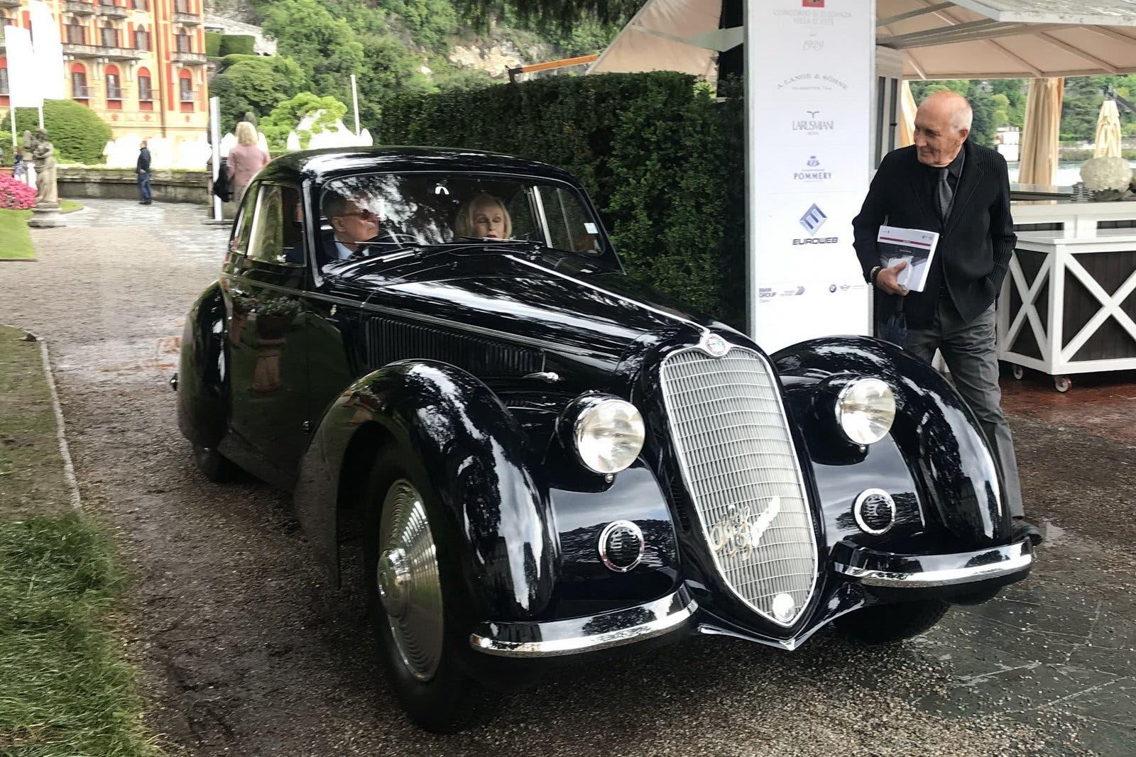 Pebble Beach Car Show >> Alfa Romeo 8C 2900 B vince la Coppa d'Oro al Concorso d'Eleganza di Villa d'Este - ClubAlfa.it