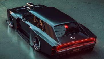 Dodge Charger 1970 Shooting Brake render