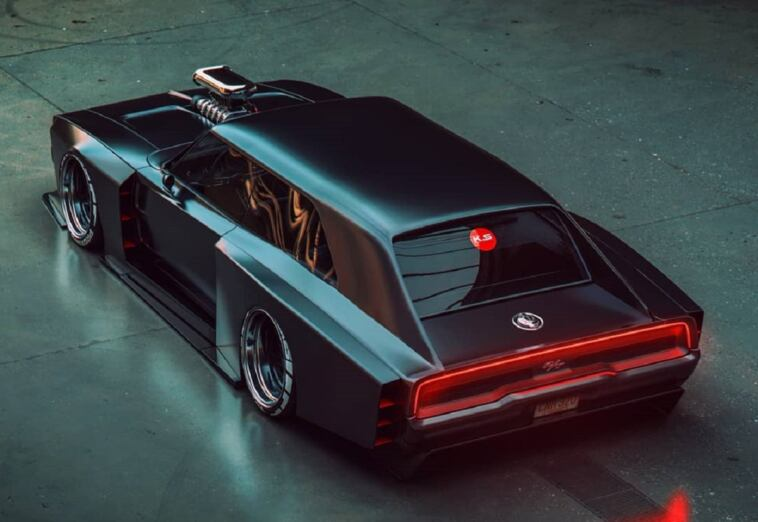 Dodge Charger 1970 Shooting Brake render