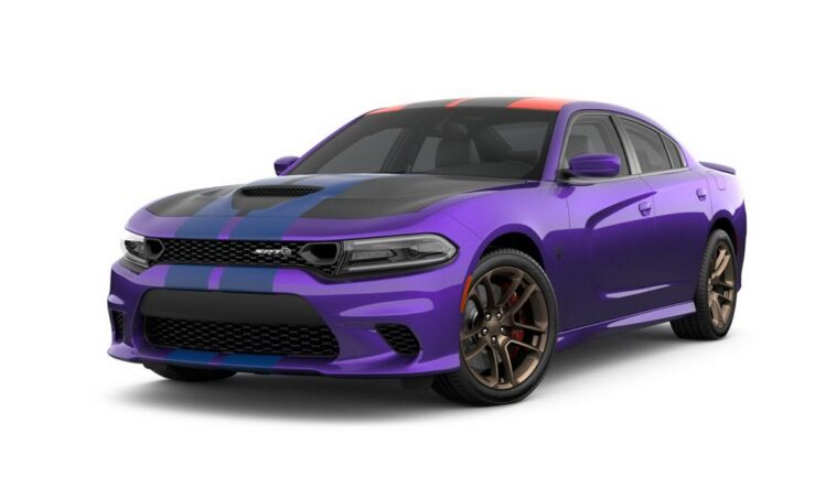 Dodge Charger SRT Hellcat 2019 viola
