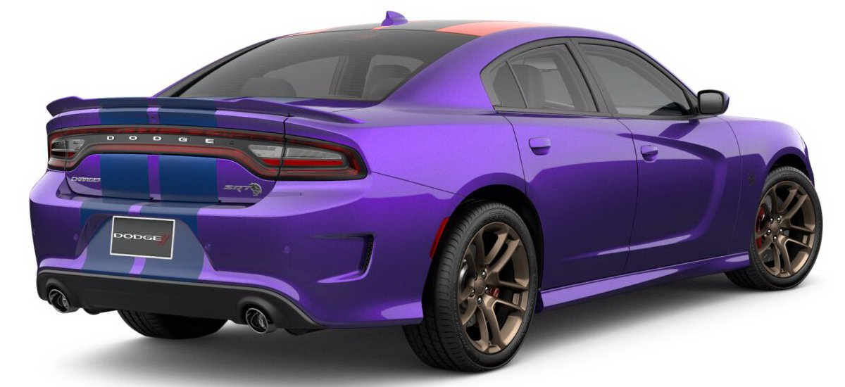 Dodge Charger SRT Hellcat 2019 viola