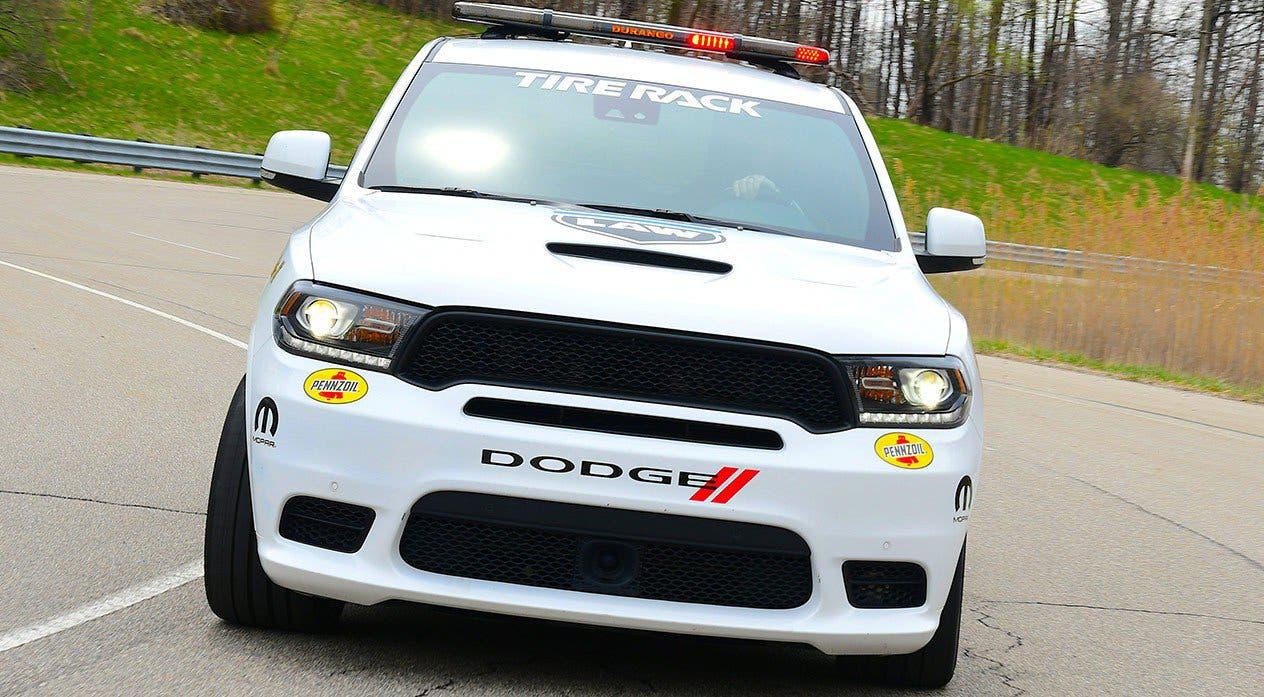 Dodge Durango SRT Pursuit Speed Trap concept