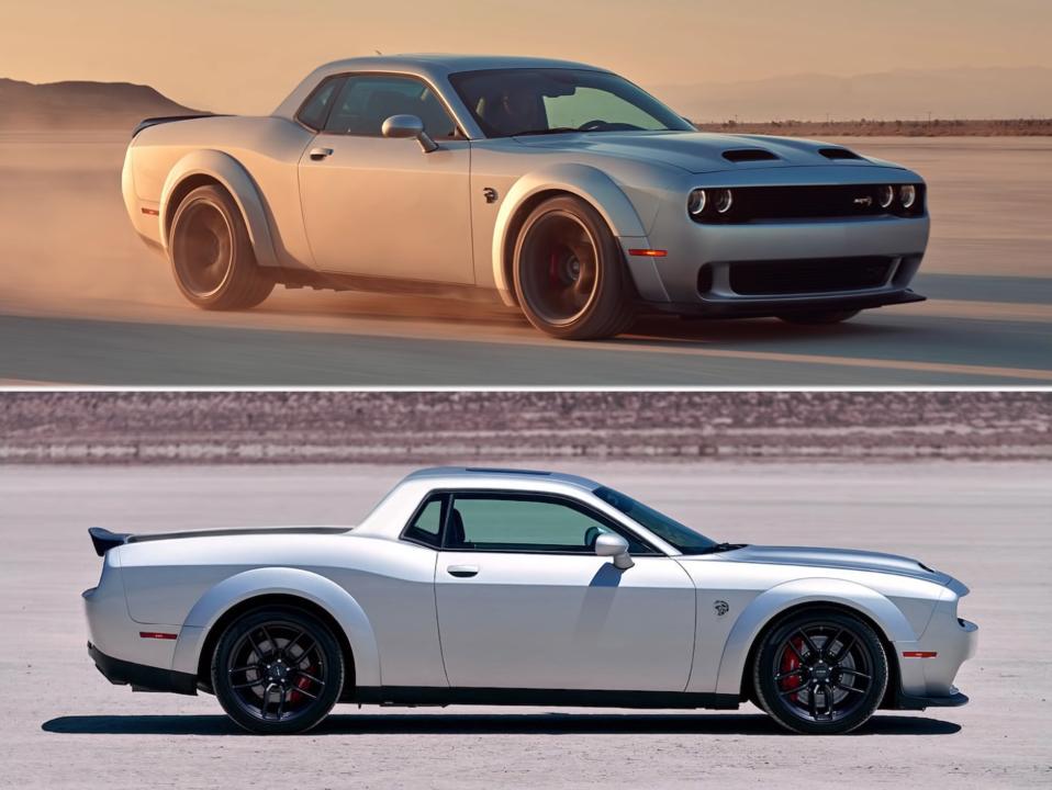 Dodge Rampage Challenger SRT Hellcat render