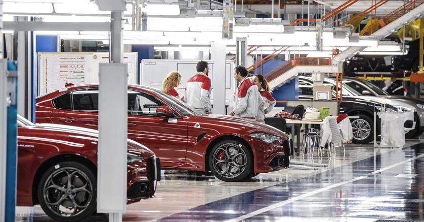 FCA fabbrica Alfa Romeo