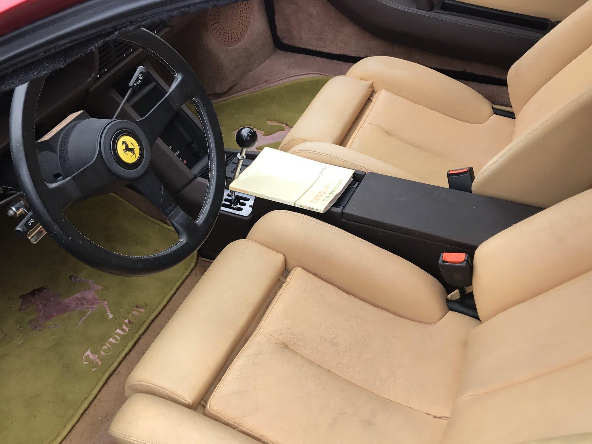 Ferrari 11 storiche auto campo aperto