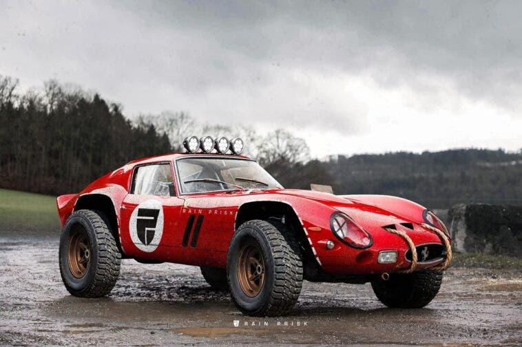 Ferrari 250 GTO off-road render