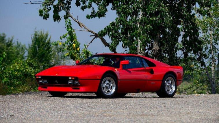Ferrari 288 GTO rubata in Germania durante un test drive