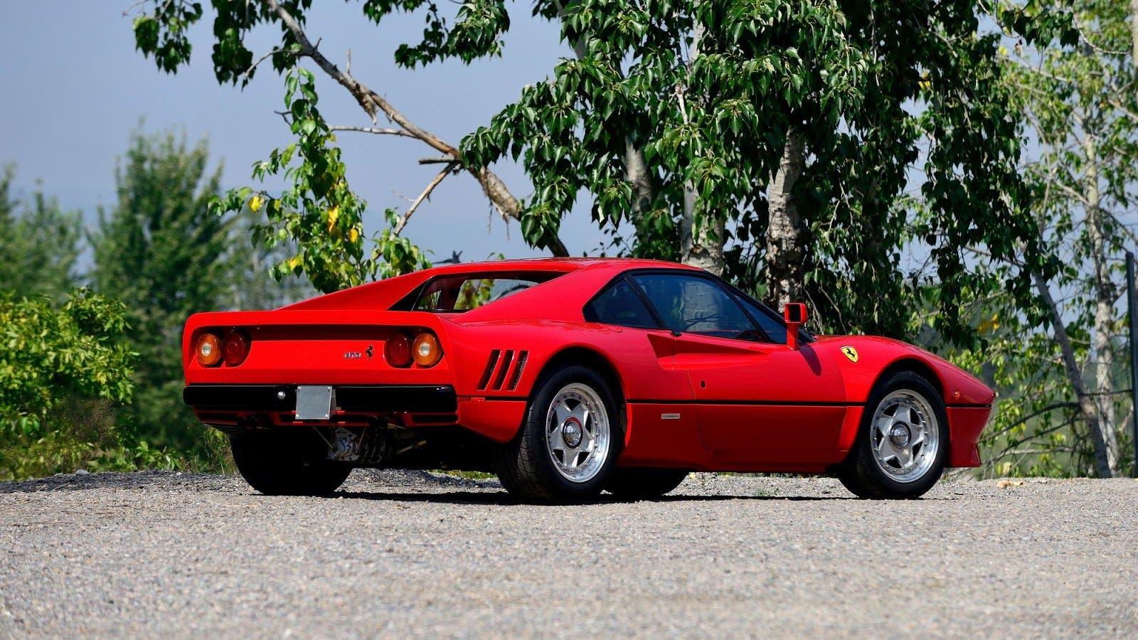 Ferrari 288 GTO rubata