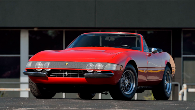 Ferrari 365 GTB/4 Daytona Spider asta