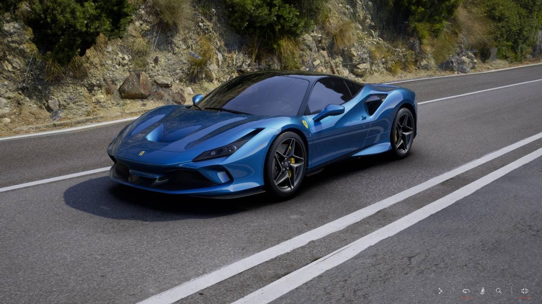 Ferrari F8 Tributo configuratore online