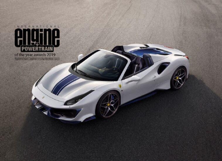 Ferrari V8 International Engine Powertrain of the Year 2019