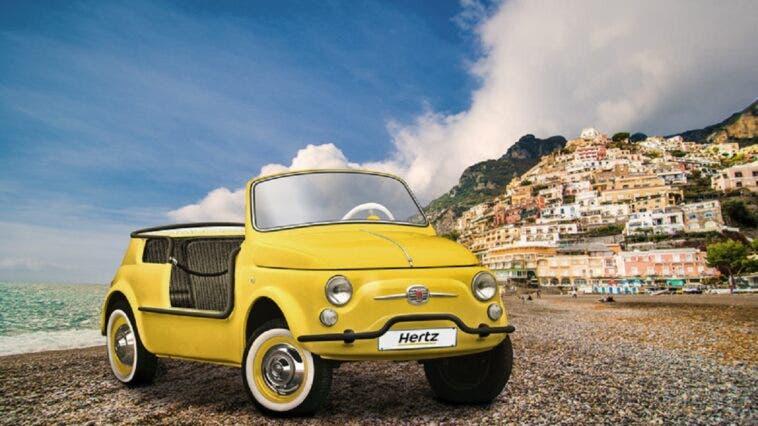 Fiat 500 Jolly Icon-e Hertz