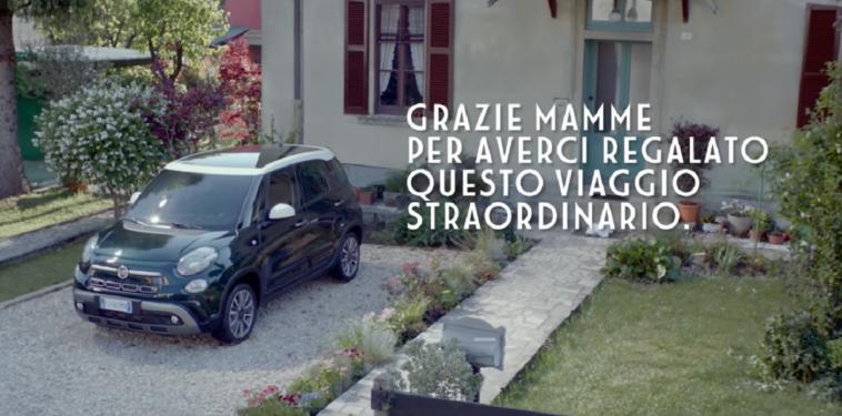 Fiat 500L spot Festa della Mamma