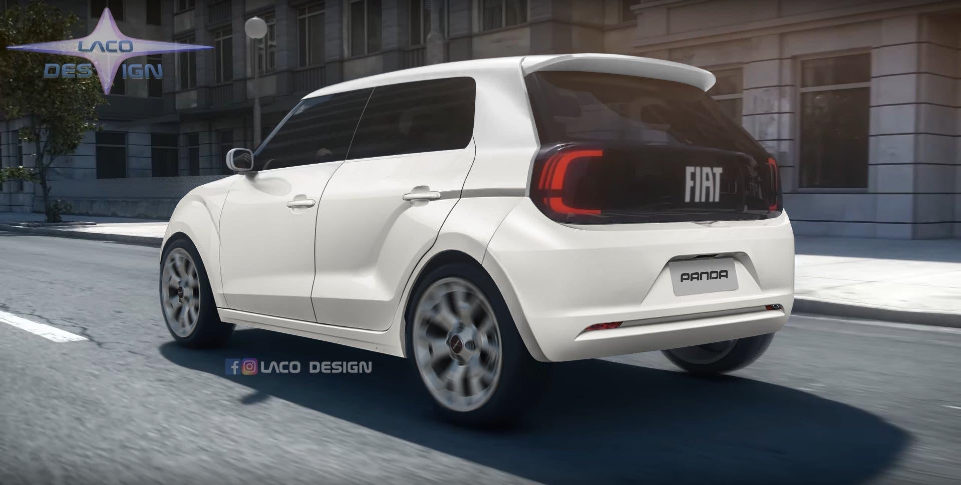 Fiat Panda LACO Design render